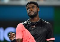 Frances Tiafoe of the US toppled second-seeded Juan Martin del Potro, 7-6 (8/6), 4-6, 7-5, to reach the quarter-finals of the ATP tournament at Delray Beach, Florida, on February 22, 2018