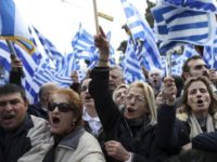 Greeks rally in Athens to protest use of the name Macedonia
