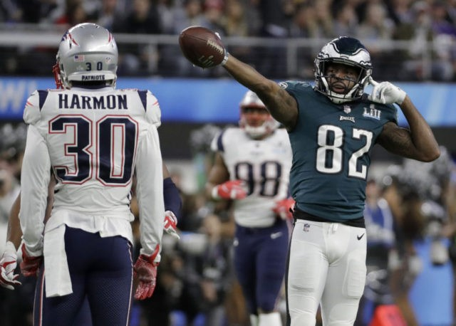 The Latest: Eagles settle for FG, 3-0 lead on opening drive