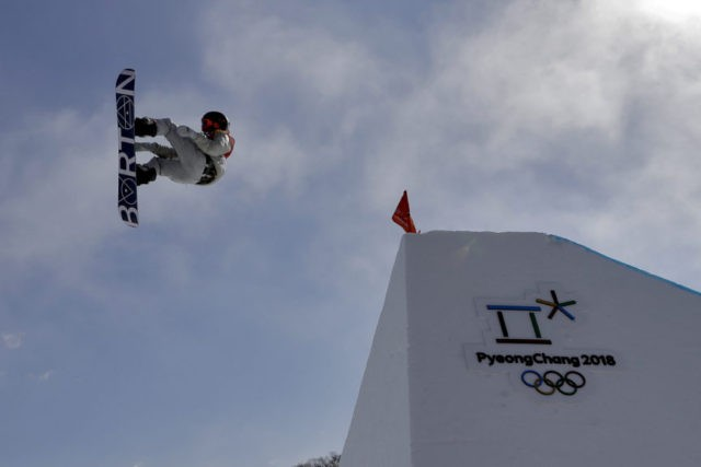The Latest: Slopestyle gold is first for US in Pyeongchang