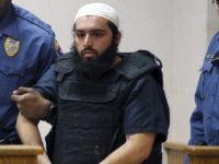 Manhattan Explosion In this Dec. 20, 2016, file photo, Ahmad Khan Rahimi, center, is led into court in Elizabeth, N.J. Rahimi, who set off small bombs on a New York City street and at a charity race in New Jersey, is set to be sentenced to a mandatory term of …