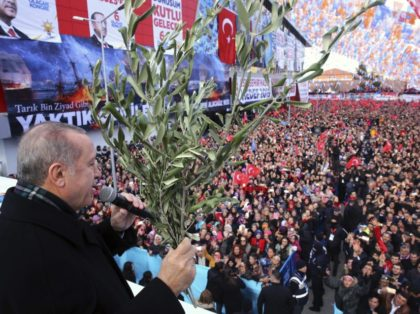 The Latest: Turkey warns Syria troops it will fight in Afrin