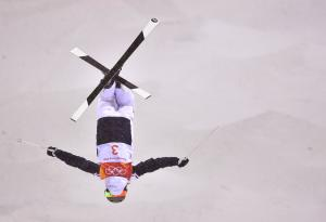 France's Laffont wins gold in women's freestyle moguls
