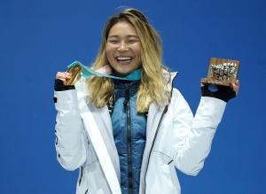 Team USA's Kim awarded churros, ice cream, sandwich after gold medal