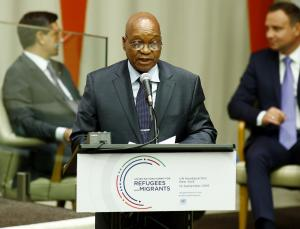South Africa's Zuma announces resignation after ANC pressure