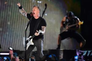 Metallica's James Hetfield joins Zac Efron in 'Extremely Wicked' set photo