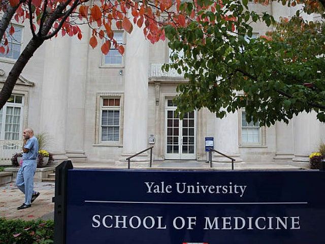 A scene outside the Sterling Hall of Medicine near Yale New Haven Hospital in New Haven, Connecticut. Officials say that Yale-New Haven Hospital is waiting for test results on a patient who recently traveled to Liberia and was admitted Wednesday night with a fever. They confirmed that the patient was …