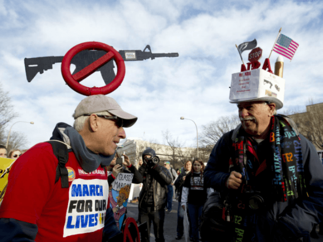 Thousands march for their lives on the Walkway