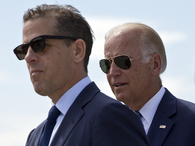 Report: DOJ Official Confirms FBI Investigating Hunter Biden for Money-laundering