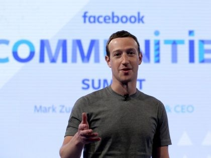 In this Wednesday, June 21, 2017, photo, Facebook CEO Mark Zuckerberg speaks in preparation for the Facebook Communities Summit, in Chicago, in advance of an announcement of a new Facebook initiative designed to spur people to form more meaningful communities with Facebook's groups feature. (AP Photo/Nam Y. Huh)