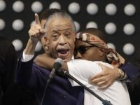 Al Sharpton at Stephon Clark funeral (Jeff Chiu / Associated Press)