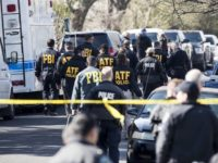 Austin Bombing - ATF FBI on Scene - AP Photo