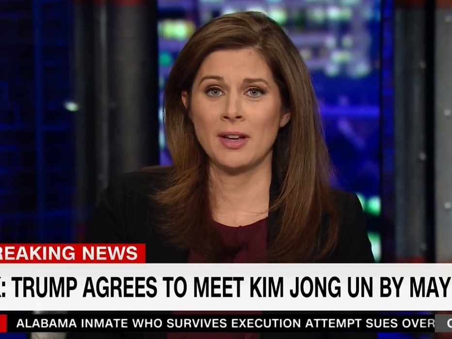 Image result for erin burnett trump meet kim