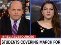 CNN Stelter Reliable Sources Marjory Stoneman Screenshot