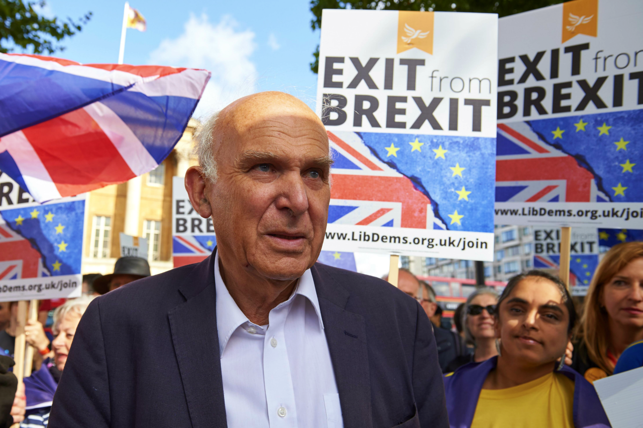 Vince Cable humiliated as European Union leaders disown call for new Brexit vote