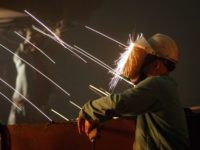 California steel worker (David McNew / Getty)