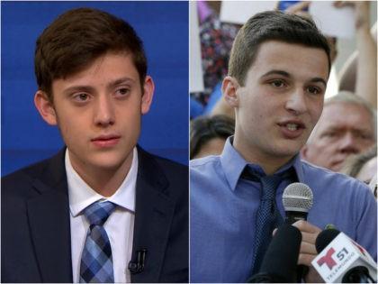 Kyle Kashuv and Cameron Kasky