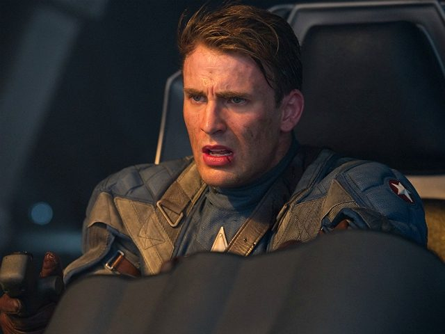 Chris Evans in Captain America: The First Avenger (Marvel, 2011)