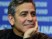 "US actor George Clooney attends a press conference for the film ""Hail, Caesar!"" screened as opening film of the 66th Berlinale Film Festival in Berlin on February 11, 2016. Eighteen pictures will vie for the Golden Bear top prize at the event which runs from February 11 to 21, 2016. …"