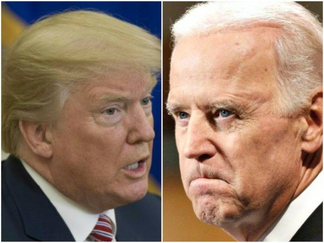 Biden-Trump angry collage