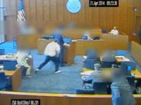 WATCH: Crips Gang Member Attacks Court Witness Before Marshal Fatally Shoots Attacker