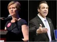 'Sex and the City' Star Cynthia Nixon to Challenge New York Gov. Andrew Cuomo