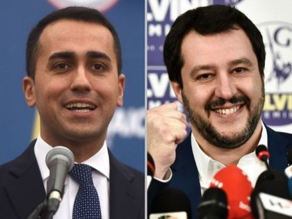 Italy's populist Five Star Movement (M5S) party leader Luigi Di Maio, addresses journalists a day after Italy's general elections, on March 5, 2018 in Rome.