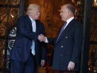 Donald Trump and Ronald Lauder (Evan Vucci / Associated Press)