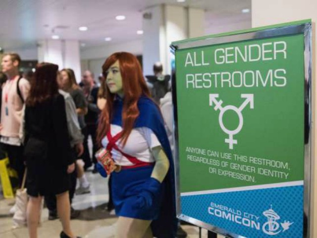 Politician Direct Emerald-City-Comic-Con-all-gender-bathrooms-getty Student Booted from Christianity Class for Arguing that There Are Only Two Genders Breitbart Politics  Tech Social Justice IUP Indiana University of Pennsylvania gender feminism education Christianity