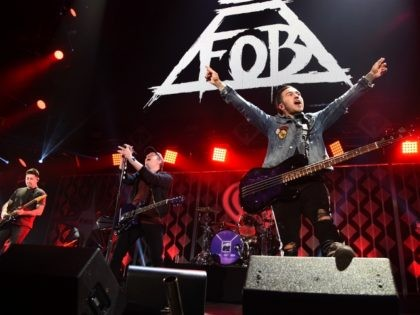 Fall Out Boy performs at Z100's Jingle Ball 2017 on December 8, 2017 in New York City. (Photo by Theo Wargo/Getty Images for iHeartMedia)