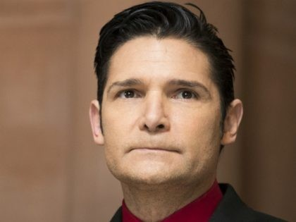 Corey Feldman arrives for a press conference in support of the Child Victims Act on March 14, 2018 at the New York State Capitol in Albany, New York. (Photo by Brett Carlsen/Getty Images)