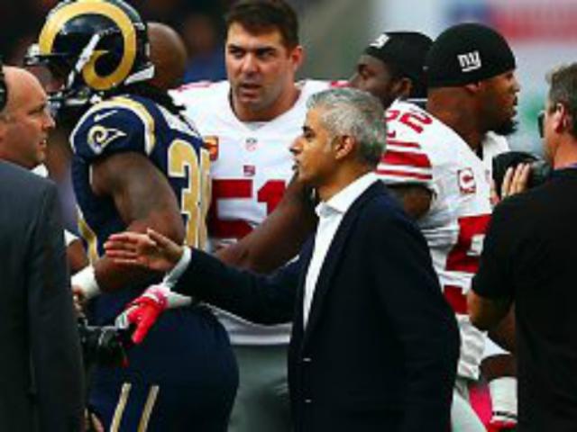 Sadiq Khan Wants NFL Team, Super Bowl for London