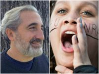Professor Gad Saad and a college SJW