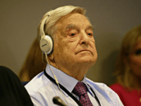 NEW YORK, NY - SEPTEMBER 20: (AFP OUT) Investor George Soros attends a Private Sector CEO Roundtable Summit for Refugees during the United Nations 71st session of the General Debate at the United Nations General Assembly on September 20, 2016 at the UN headquarters in New York, New York. The …