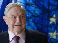 George Soros, Founder and Chairman of the Open Society Foundations arrives for a meeting in Brussels, on April 27, 2017. Meeting will mainly focus on situation in Hungary, including legislative measures that could force the closure of the Central European University in Budapest. / AFP PHOTO / POOL / OLIVIER …