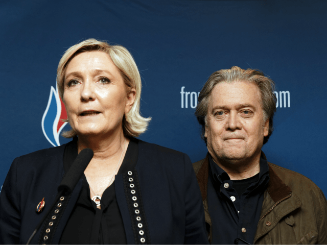 Bannon Declares Marine Le Pen Leader of Europe's Populist Movement