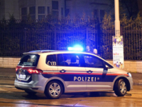 Police officers gather outside the Iranian ambassador's residence in Vienna on early on March 12, 2018 where a 26-year-old Austrian was shot dead after he attacked a guard with a knife The assailant 'died on the spot' after the soldier opened fire, police spokesman said, adding that the attack took …