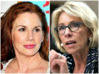 'Little House on the Prairie' Star Melissa Gilbert Says 'Moron' Betsy DeVos 'Needs to Be Removed'