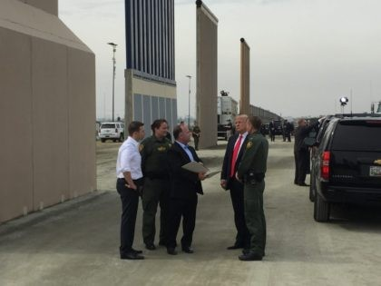 Report: Border Wall Prototypes Breached, Broken During Tests