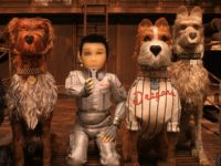 Jeff Goldblum, Bill Murray, Bob Balaban, Edward Norton, Bryan Cranston, and Koyu Rankin in Isle of Dogs (American Empirical Pictures, 2018)