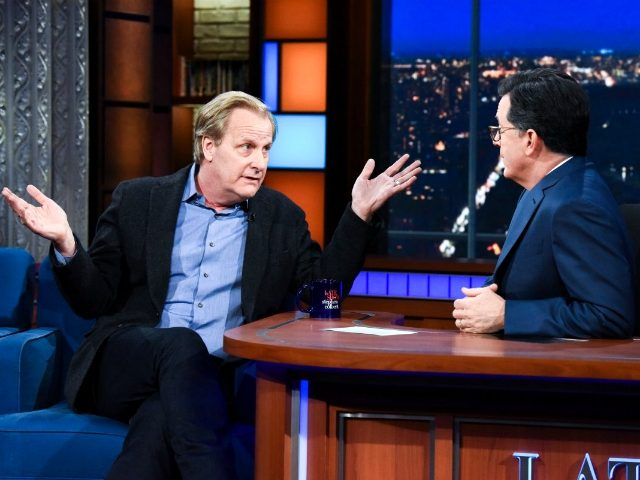 "Actor Jeff Daniels is pining for the day law enforcement officials throw President Donald Trump ""in the back of a truck and take him away,"" while claiming officials in the FBI and CIA are the ""true patriots"" who give him ""hope."" Appearing on the talk-show The Late Show with Stephen Colbert, Daniels …"
