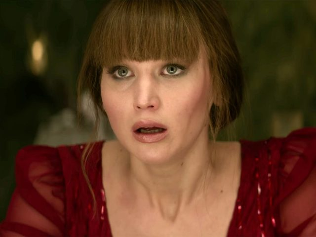 Jennifer Lawrence in Red Sparrow (2018, Chernin Entertainment)