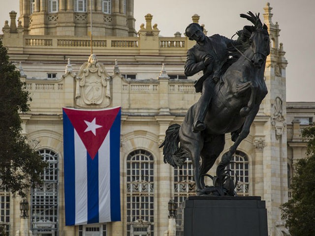 A replica of a Jose Marti statue that sits in New Yorks Central Park, is seen during its unveiling in front of the Museum of the Revolution on January 28, 2018, in Havana, Cuba. The statue of Cubas national hero Marti was donated by a fund initiated by the Bronx …