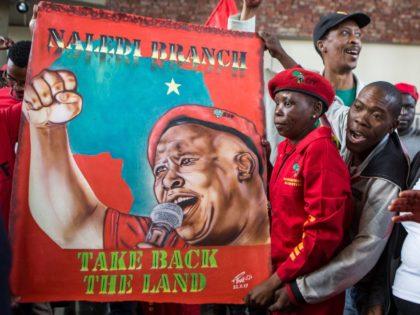 Julius Malema supporters (Wikus de Wet / AFP / Getty)