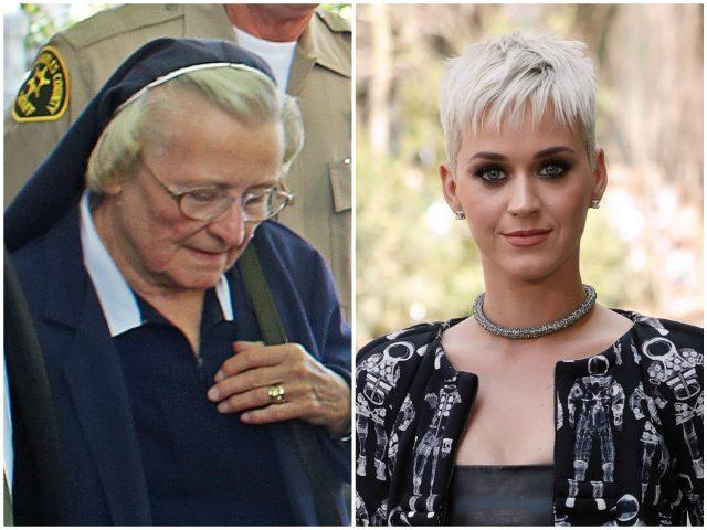 Nun Katy Perry AP/Getty