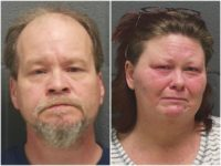 Police say that Keylin L. Johnson, 52, and Sheila L. Johnson, 44, of Ladoga, Indiana, sexually abused their children and the family dog for over five years.