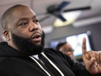 Rapper Killer Mike talks about the upcoming South Carolina Democratic presidential primary at Stroy's Barber Shop Friday, February 26, 2016 in Columbia, South Carolina. Michael Render, aka Killer Mike, campaigned for Democratic presidential candidate Bernie Sanders in the state capital the day before voters participate in the state's primary election. …