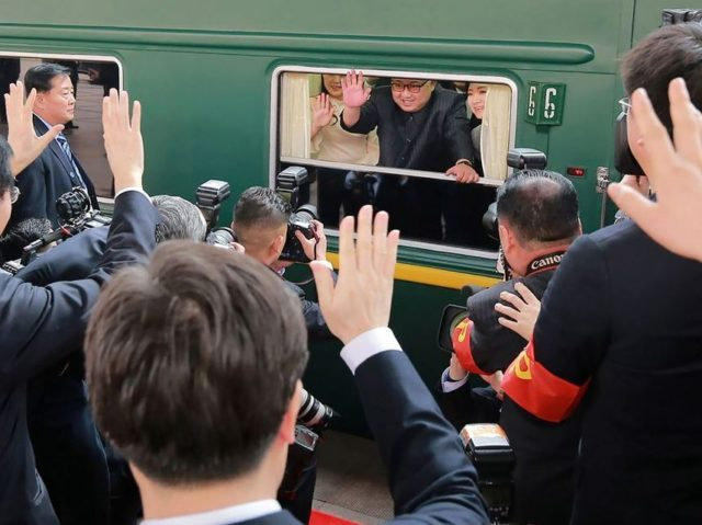 Kim Jung-un Leaves China