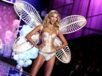 Karlie Kloss walks the runway at the annual Victoria's Secret fashion show at Earls Court on December 2, 2014 in London, England. (Photo by Tim P. Whitby/Getty Images)