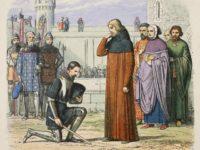 Kneeling before a King